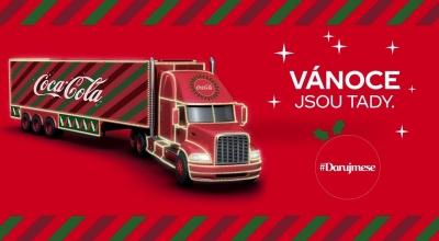 Vánoční kamion Coca-Cola 2019 - Karviná
