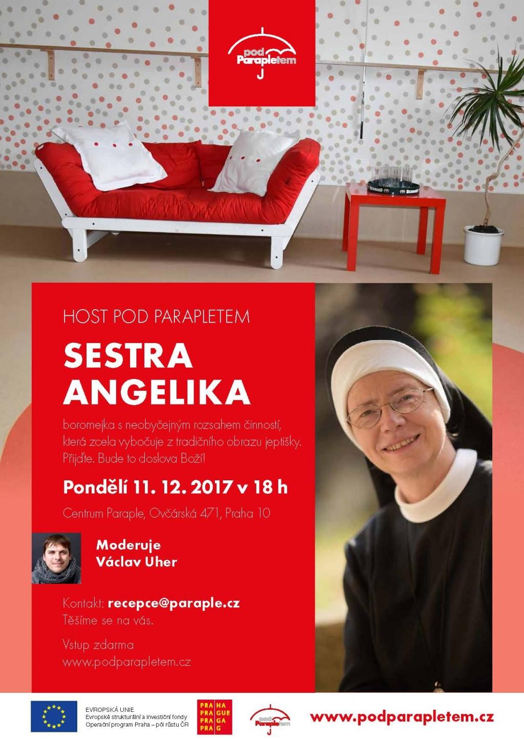 Host Pod Parapletem - SM. Angelika Pintířová