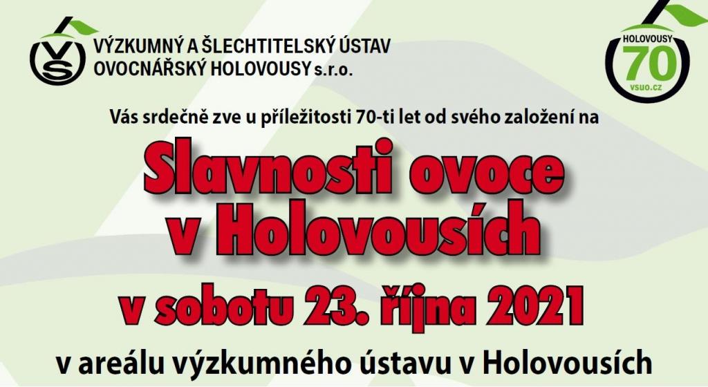 Slavnosti ovoce v Holovousích 2021