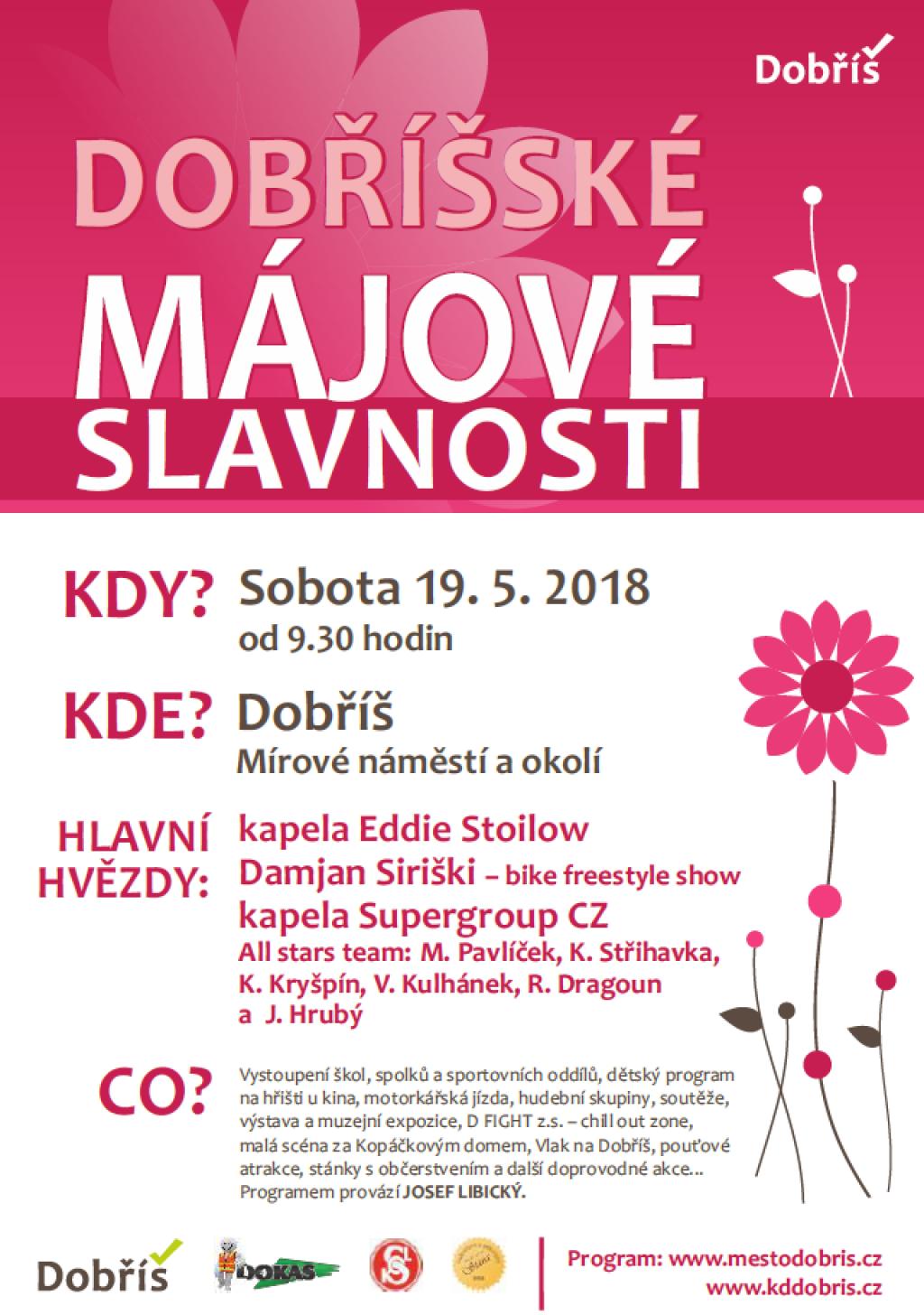 Dobříšské májové slavnosti 2018