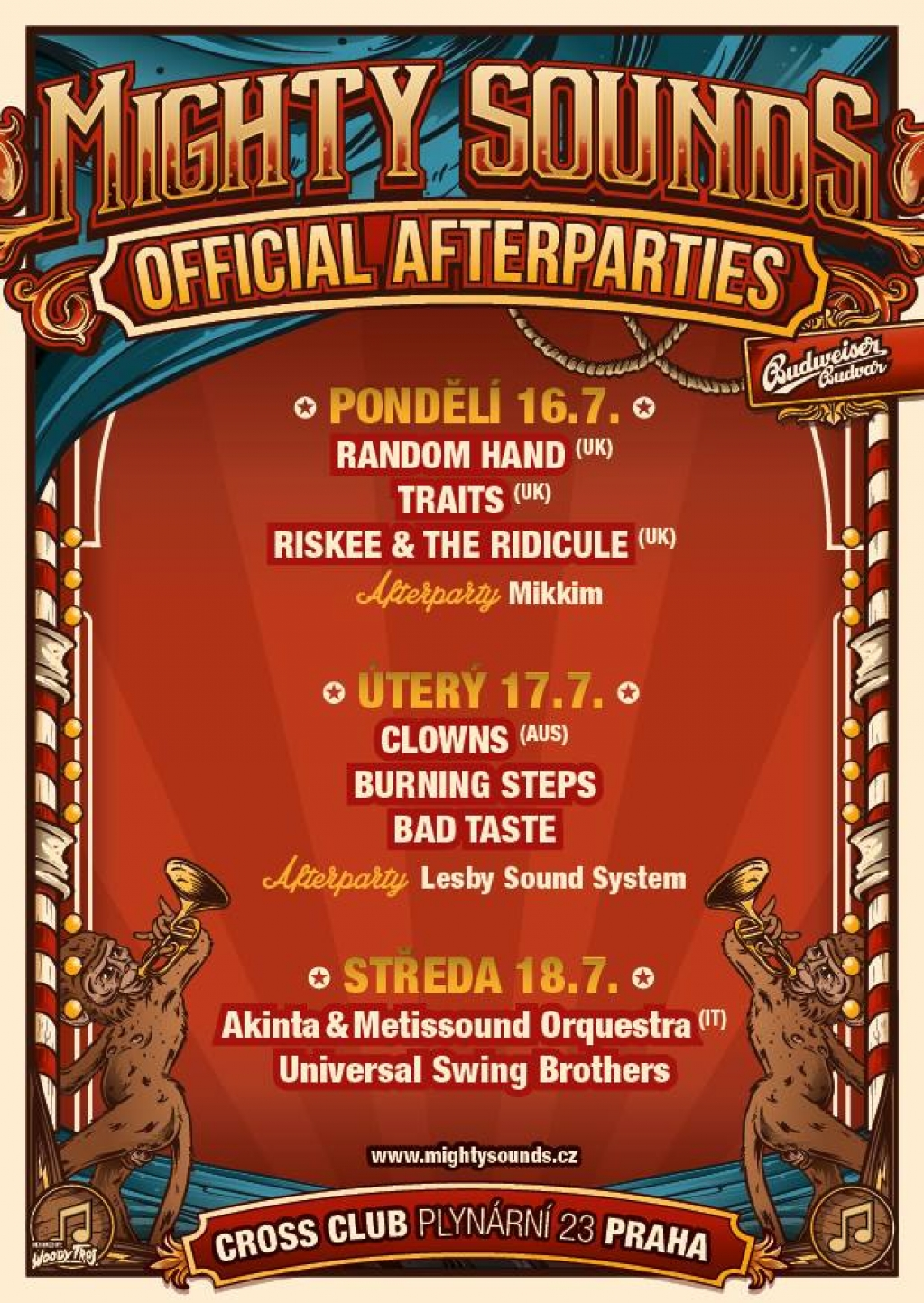 Mighty Sounds Offical Afterparties