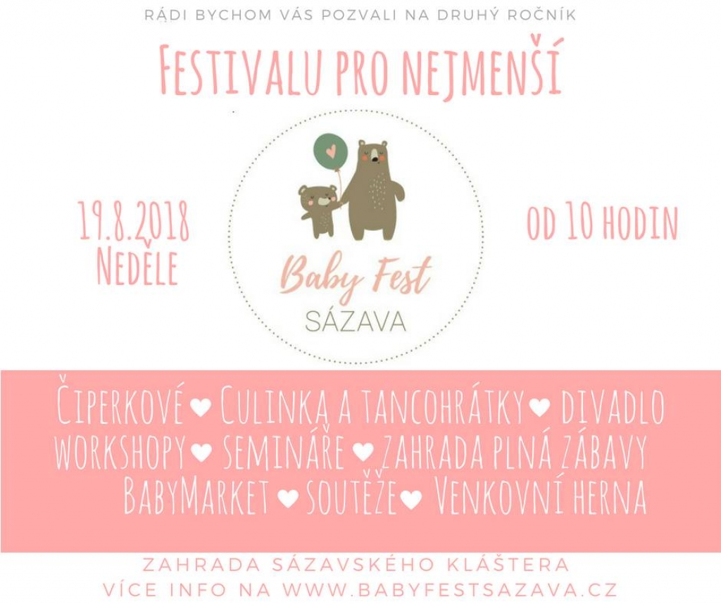 BabyFest Sázava 2018