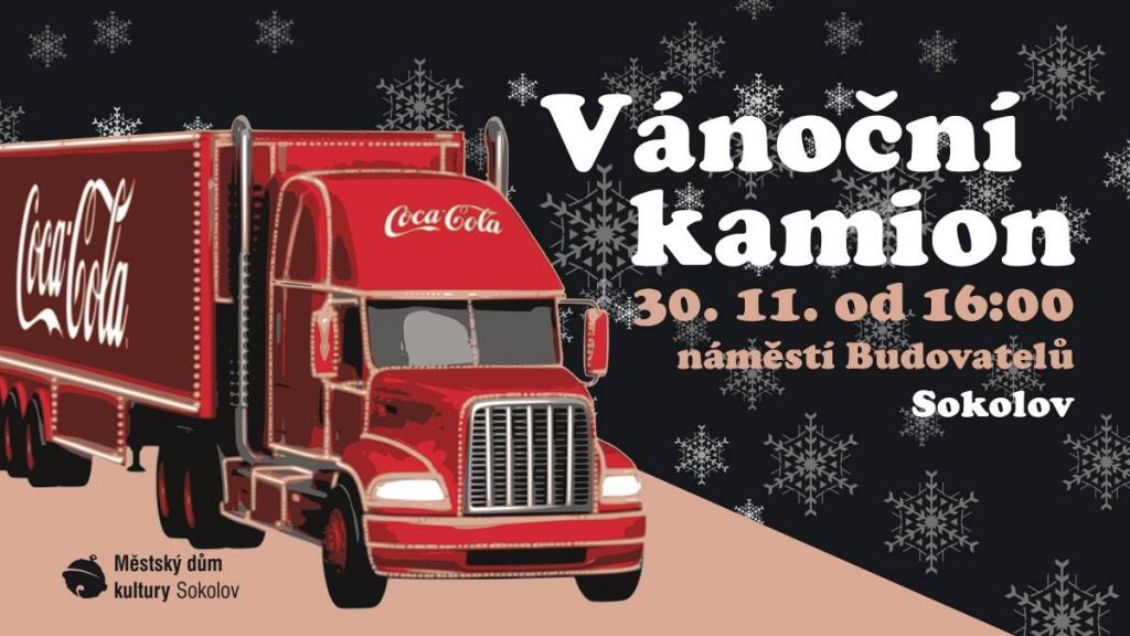 Vánoční kamion Coca-Cola 2018 - Sokolov