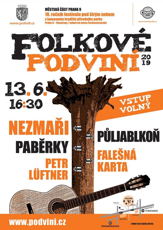 16. ročník open air festivalu Folkové Podviní 2019