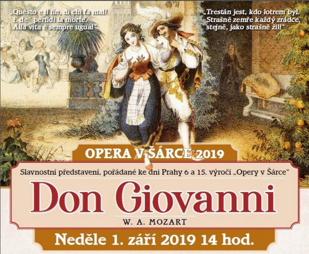 Opera v Šárce 2019 - Don Giovanni