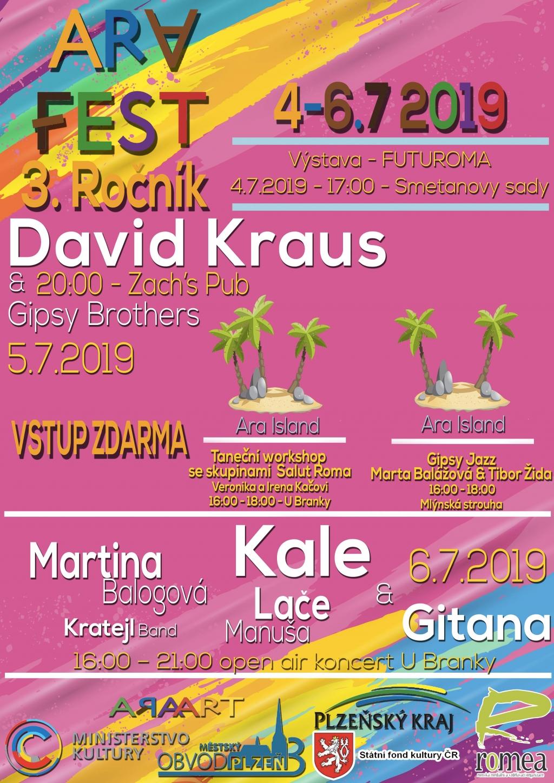 AraFest 2019 - festival romské kultury v Plzni