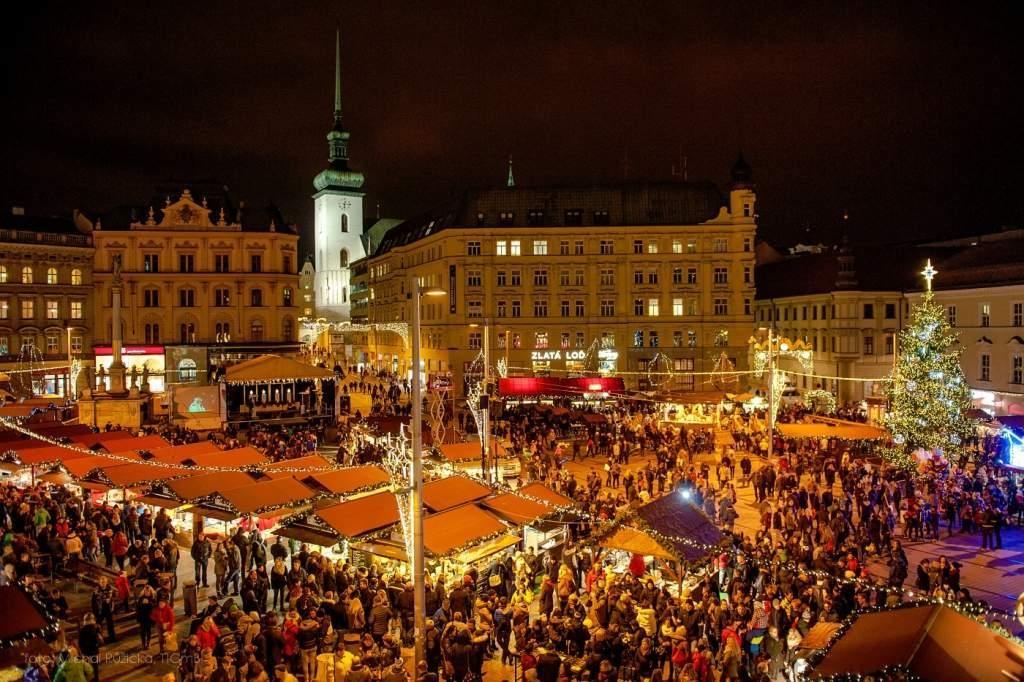 Slavnostní rozsvícení vánočního stromku v Brně 2019
