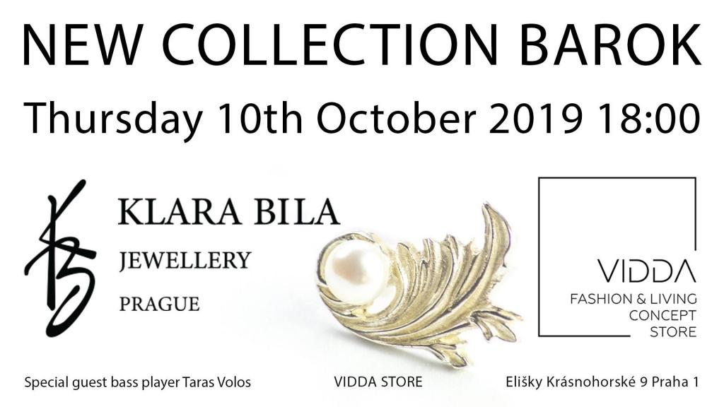 Představení nové kolekce Barok šperkařky Kláry Bílé