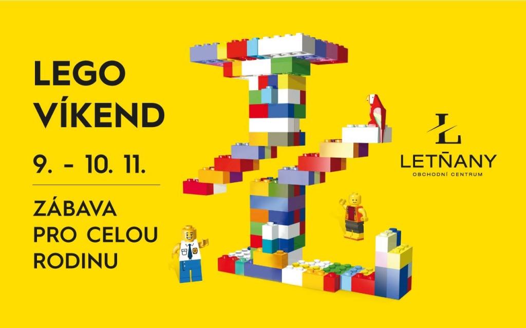 LEGO víkend v OC Letňany
