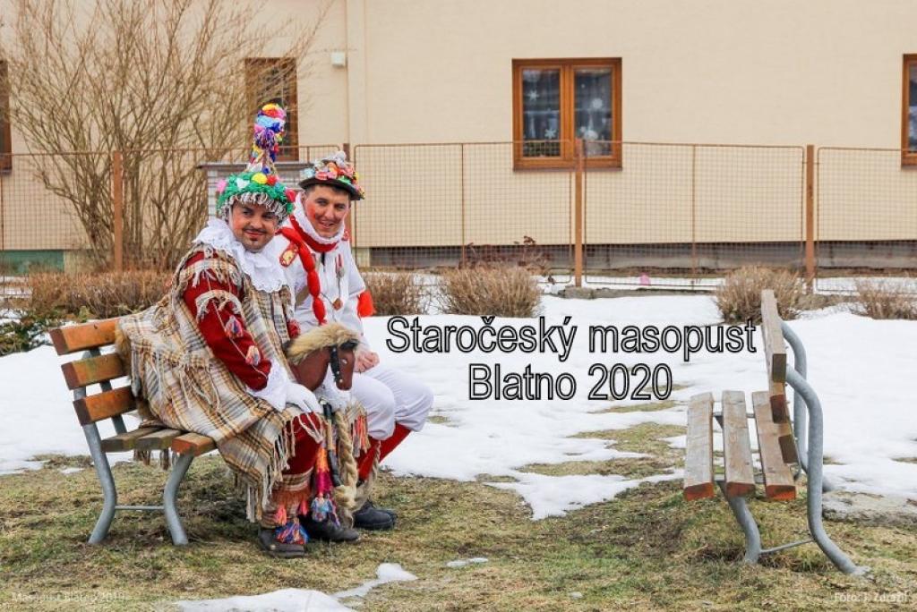 Staročeský masopust Blatno 2020