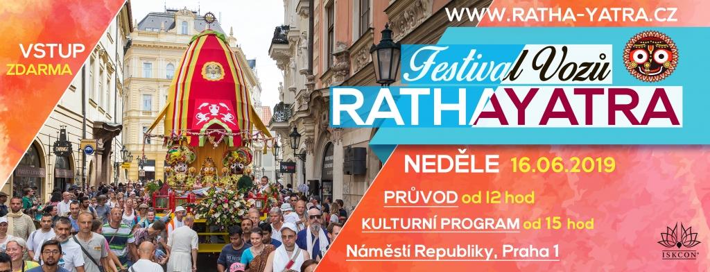 Ratha-Yatra festival vozů