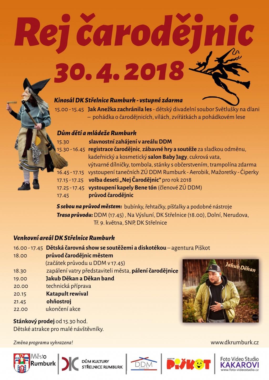 Rej čarodějnic - Rumburk 2018