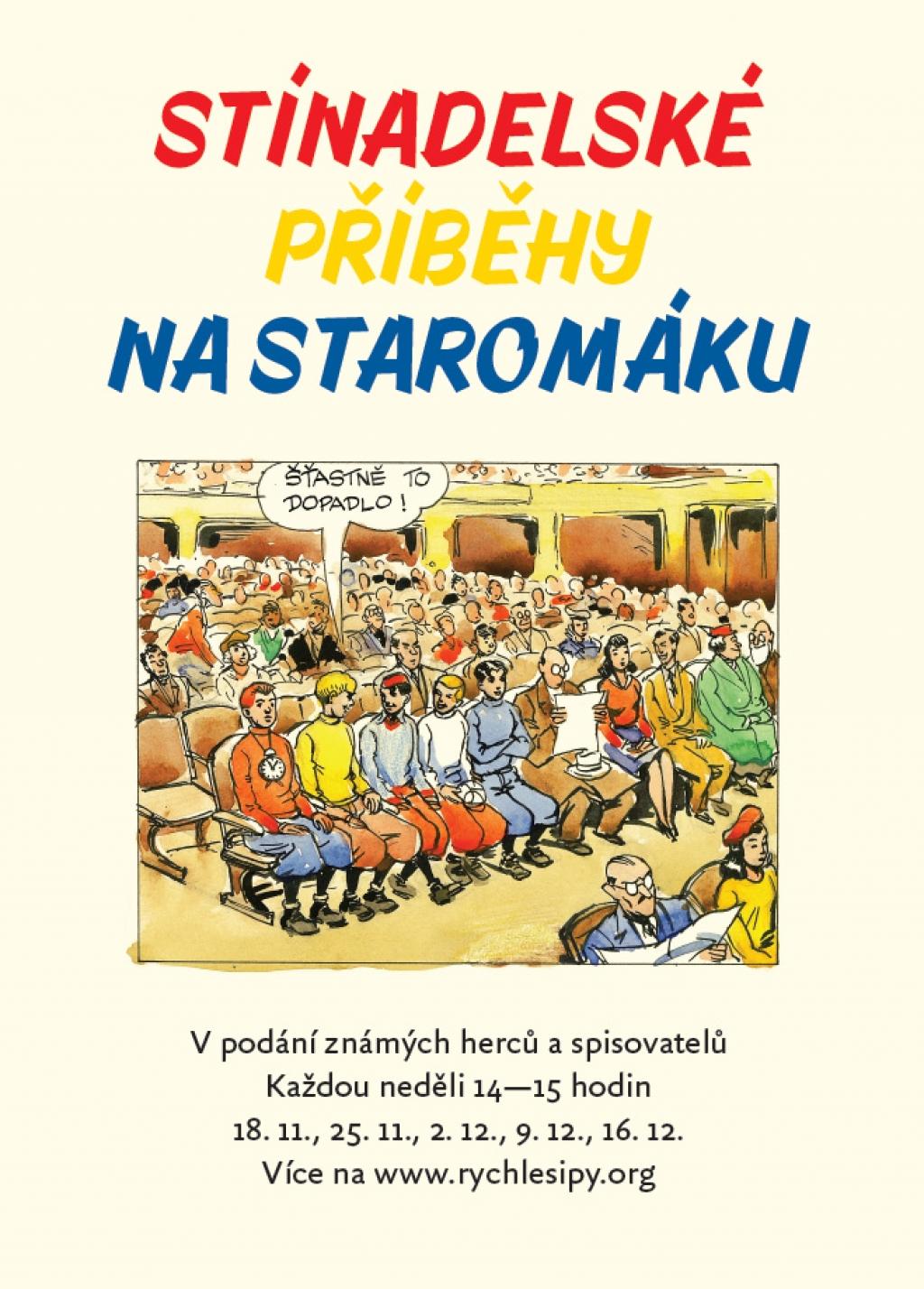 Čtení ze Stínadelské trilogie