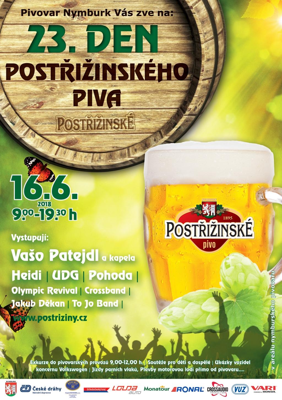 Den Postřižinského piva 2018