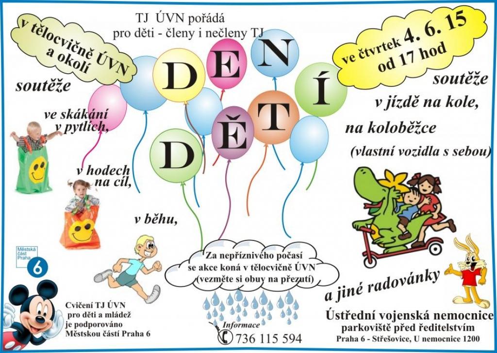 Dětský den Praha 6