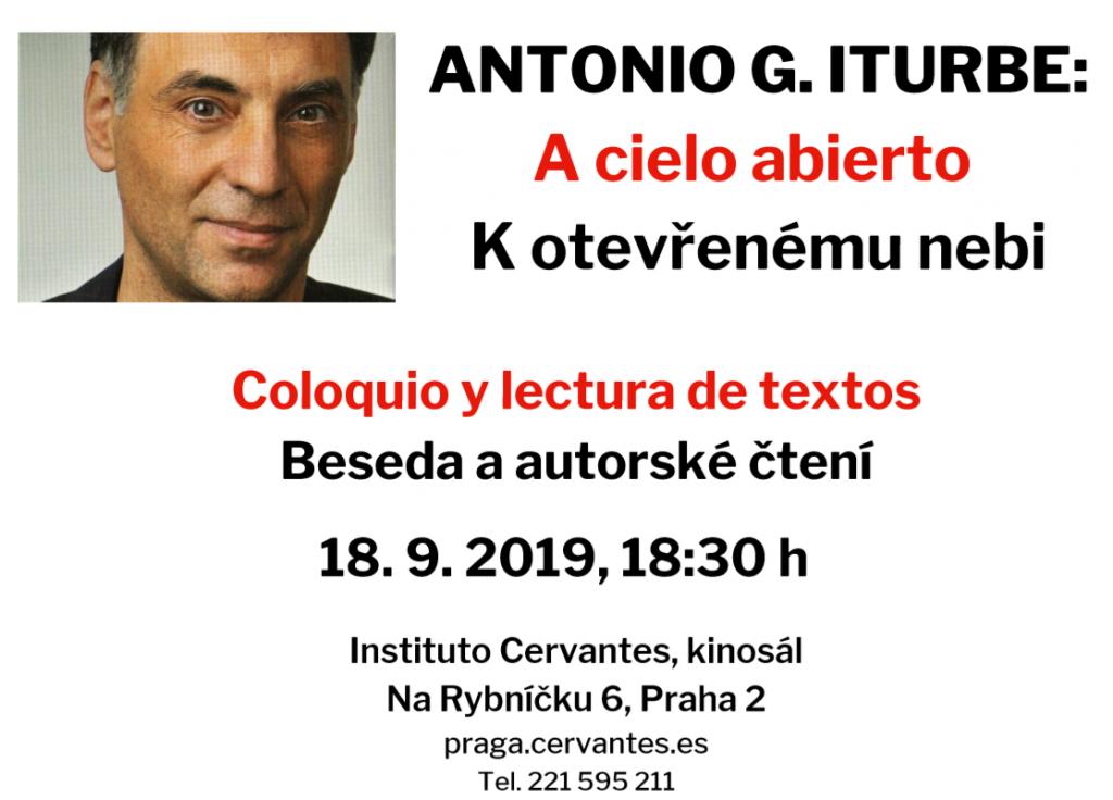 Beseda - Antonio Iturbe: K otevřenému nebi