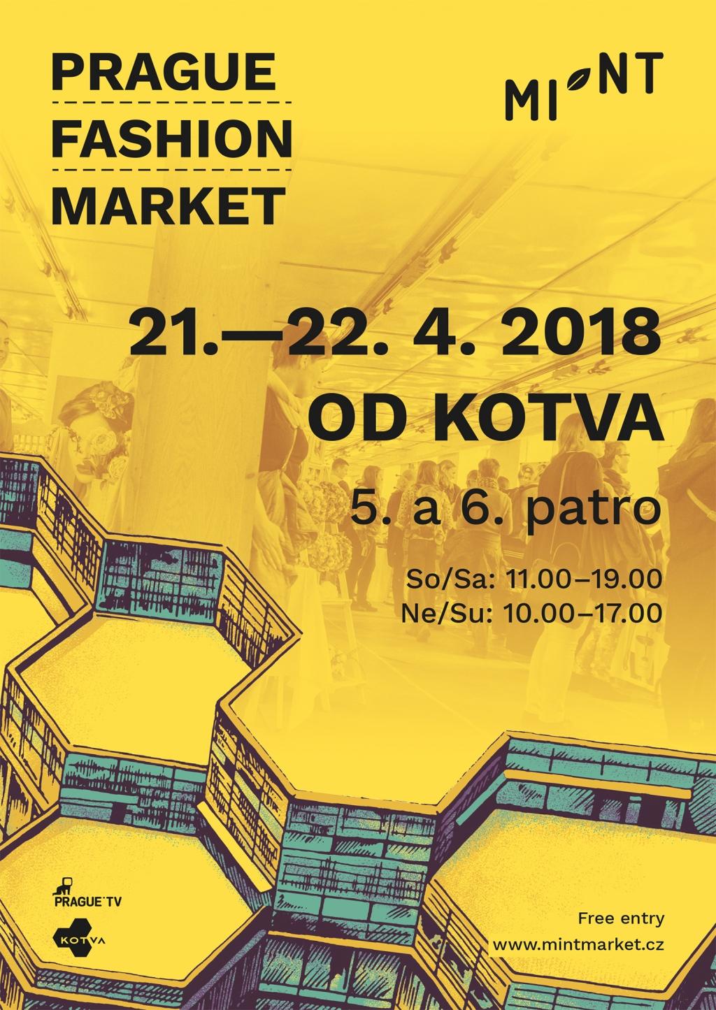 MINT: Prague Fashion Market zakotví v OD Kotva 21