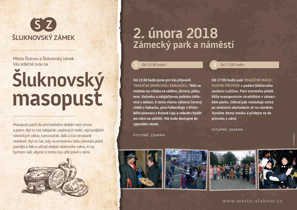 Šluknovský Masopust 2018