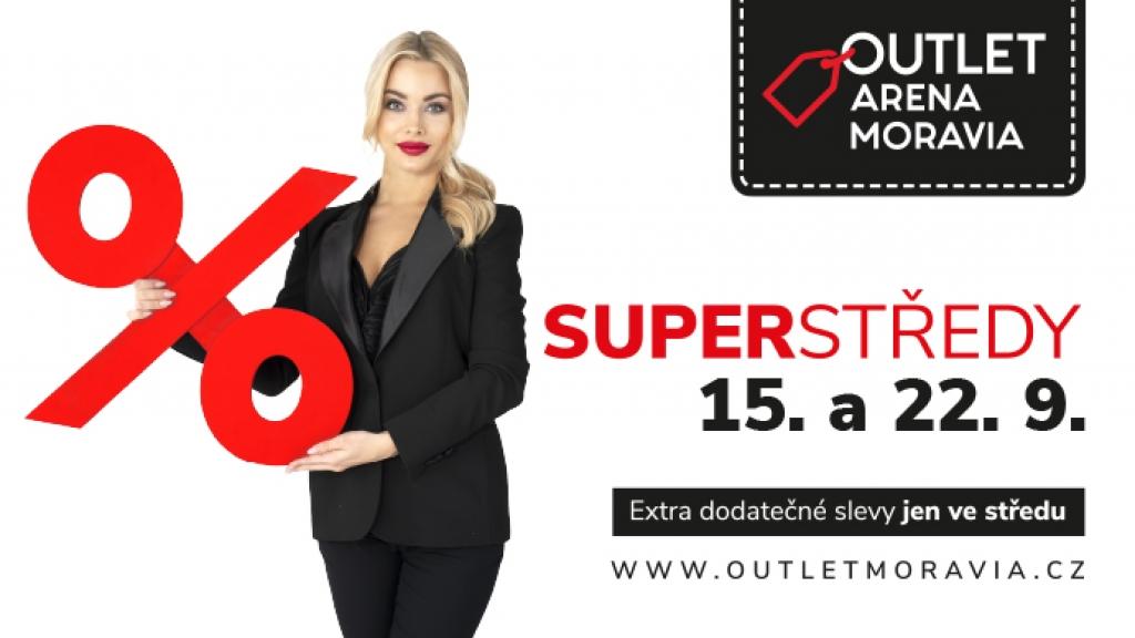Outlet Arena Moravia chystá poslední letošní Superstředy