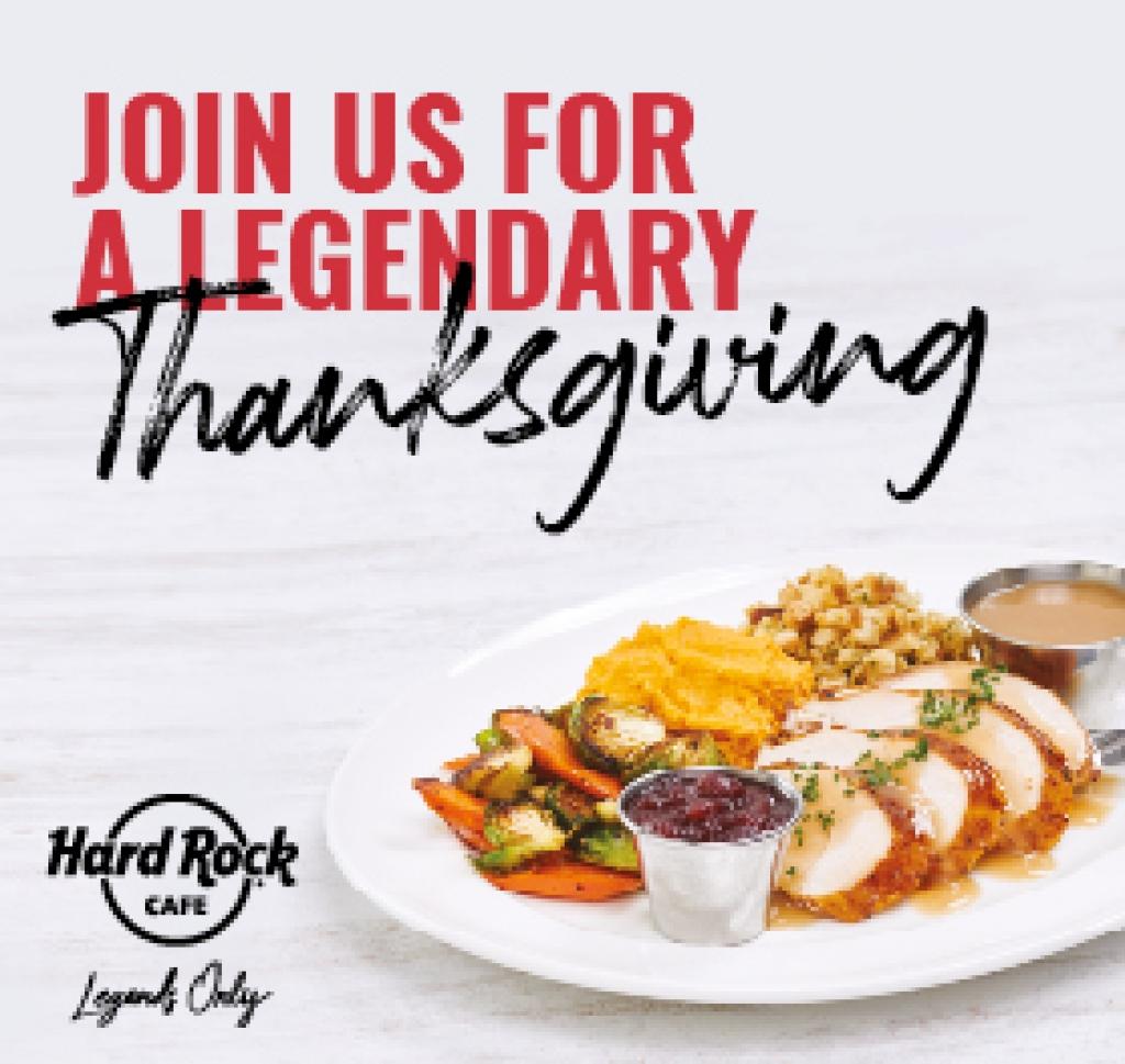 Den díkůvzdání v Hard Rock Cafe Praha