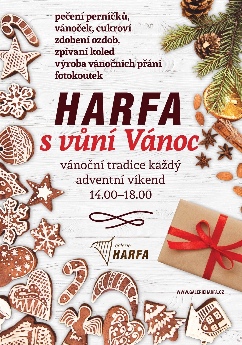 Vánoce v Galerii Harfa