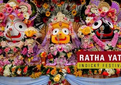Indický festival - Ratha - Yatra 2017
