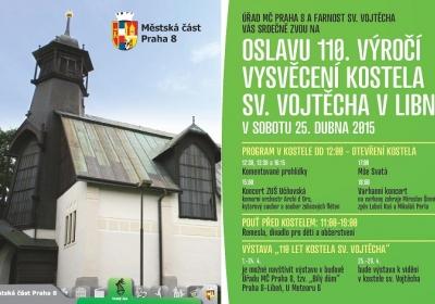 Oslava 110 let kostela sv. Vojtěcha v Libni