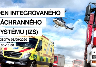 Den integrovaného záchranného systému před Centrem Černý Most 2020