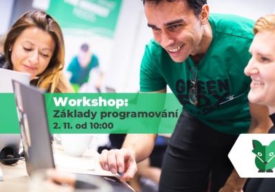 Workshop: Základy programování