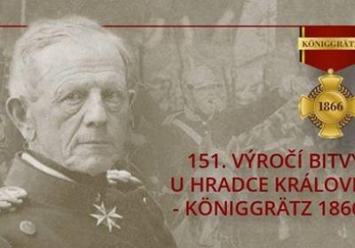 151. výročí bitvy u Hradce Králové a války 1866 - bitevní ukázky