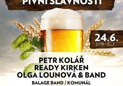 VI. středočeské Pivní slavnosti 2017