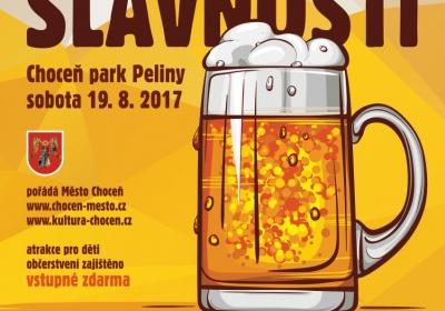 XVI. pivní slavnosti Choceň 2017