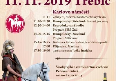 Svatomartinské slavnosti v Třebíči 2019