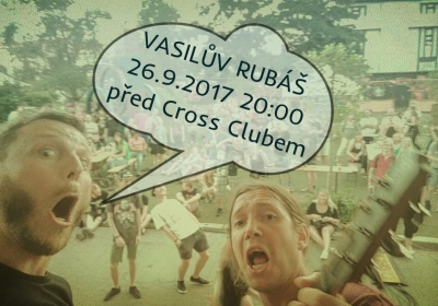 Vasilův Rubáš před Crossem Zdarma 2017