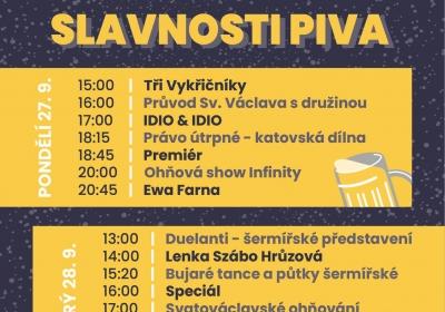 Svatováclavské slavnosti piva 2021 Zábřeh