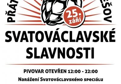 Svatováclavské slavnosti v pivovaru Malešov 2021