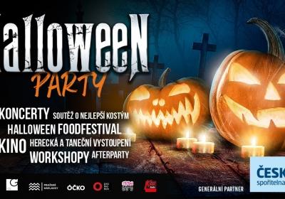 Halloween party na Smíchovské náplavce 2021