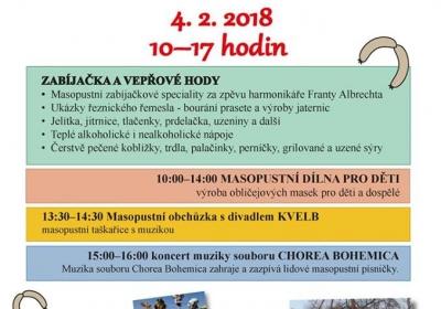Masopust ve Ctěnicích 2018