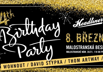 Headliner 4th Birthday Party