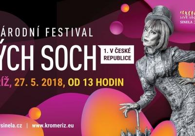 Mezinárodní festival živých soch 2018