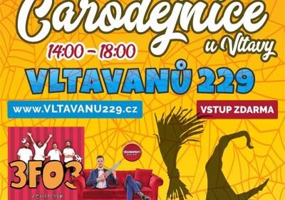 Bombarďácky kouzelné Čarodějnice u Vltavy 2018