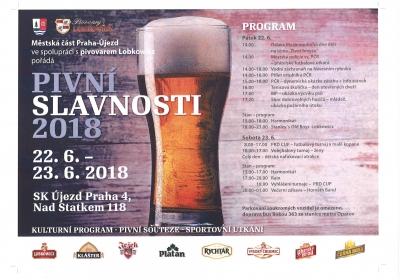 Pivní slavnosti 2018 - Praha - Újezd