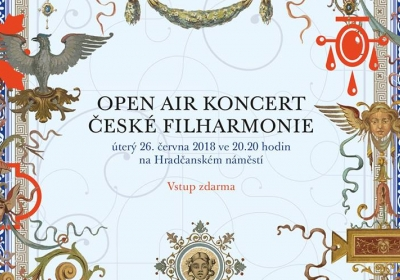 Open air koncert České filharmonie 2018