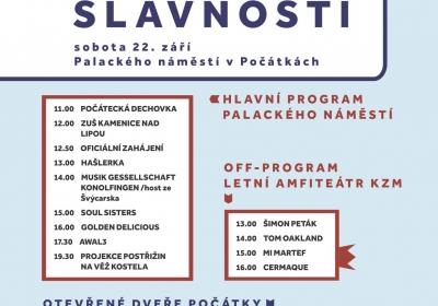 POČÁTECKÉ VÁCLAVSKÉ SLAVNOSTI 2018 – 17. ročník