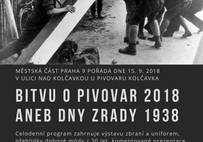 Bitva o pivovar Kolčavka 2018