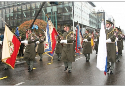 Oslavy 100. výročí vzniku samostatného československého státu - Přehlídka 2018