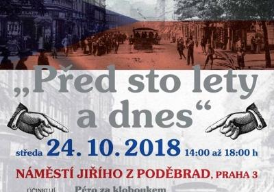 Oslavy 100. výročí vzniku samostatného československého státu - Před sto lety a dnes