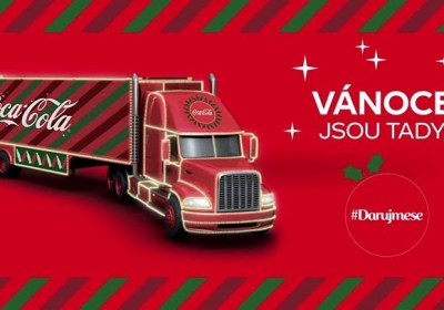 Vánoční kamion Coca-Cola 2018 - Písek