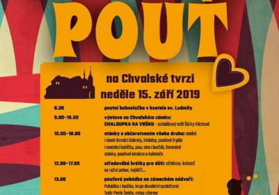 Svatoludmilská pouť na Chvalské tvrzi 2019