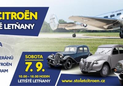 Den Letiště Letňany 2019 a 100 let značky Citroën